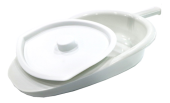 ASSURE BEDPAN WITH COVER
