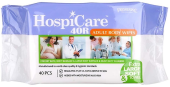 HOSPICARE 40R ADULT BODY WIPES (30 X 20 CM)