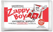 ZAPPY BOY RESEALABLE WIPES