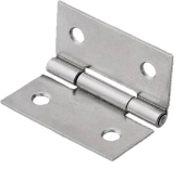 S/S HINGES 1""