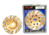 "SANKI DIAMOND CUP WHEEL 4"" (GOLD)"