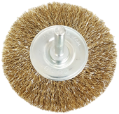 SANKI WHEEL WIRE BRUSH 65MM x 6MM