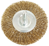 SANKI WHEEL WIRE BRUSH 100MMX6MM