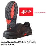 AETOS 893003 ZINC SLIP-ON SAFETY SHOE- NEW VERSION
