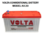 VOLTA N120 CONVENTIONAL BATTERY