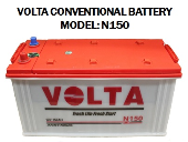 VOLTA N150 CONVENTIONAL BATTERY