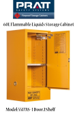 Flammable Liquids Storage Cabinet 60L