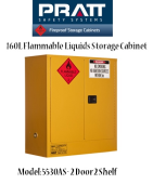 Flammable Liquids Storage Cabinet 160L