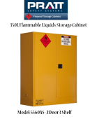 Flammable Liquids Storage Cabinet 350L-(2Doors)